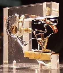 Az első tranzisztor